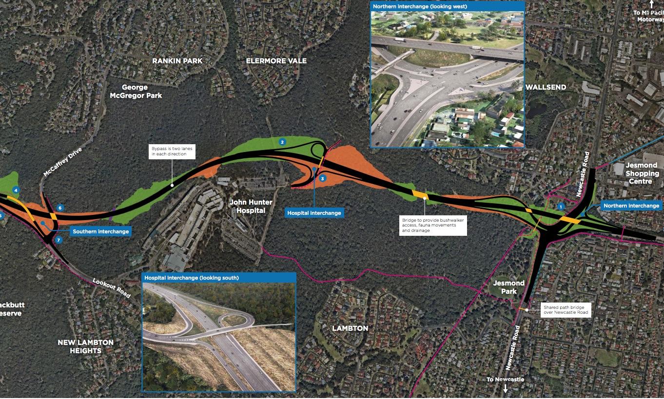 Inner City Bypass Jesmond To Rankin Park Update With Sonia